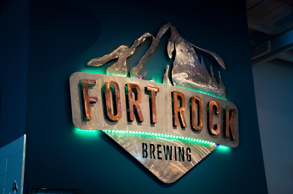 Fort Rock Sign